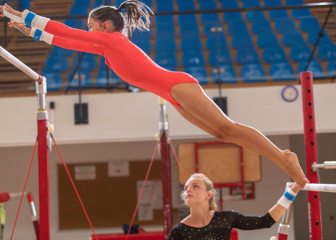 Pratiquer la gymnastique artistique dès le plus jeune âge