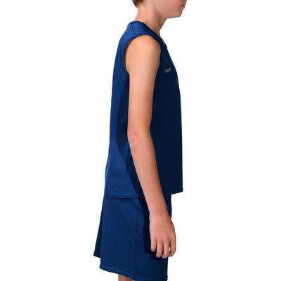Camiseta de baloncesto para niños B300 azul