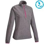 Women's Fleece Jacket MH100 - Grey