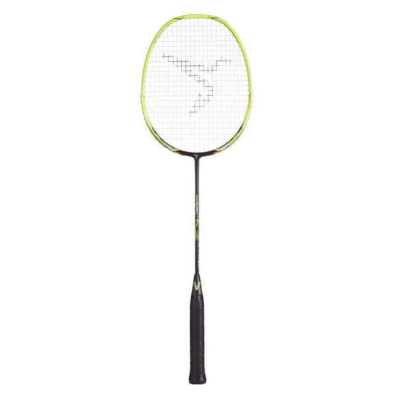 Raquette de Badminton Adulte BR 530 - Noir/Jaune