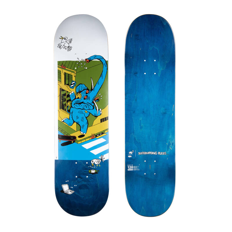 SKATEBOARDY Skateboarding, longboarding, waveboarding - DESKA DK120 8,25