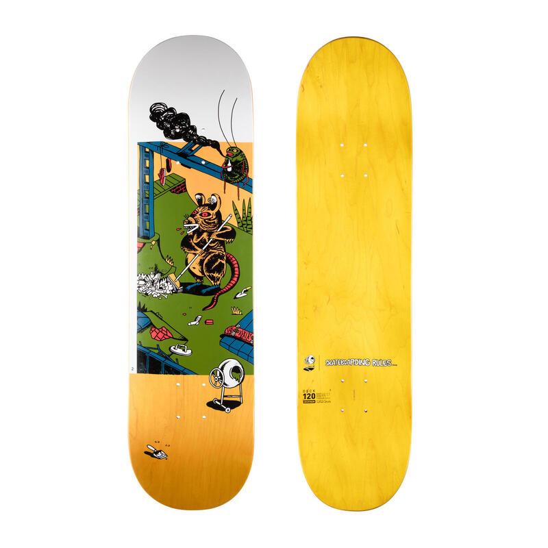 "Tabla Skate DK120 ""T. Knuts Skateboarding Rules"" Arce Tamaño 8"""