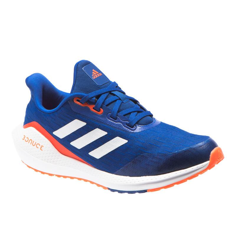 Zapatillas Atletismo EQ21\nNiños Azul Naranja