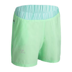 AT 100 girl's athletics shorts green