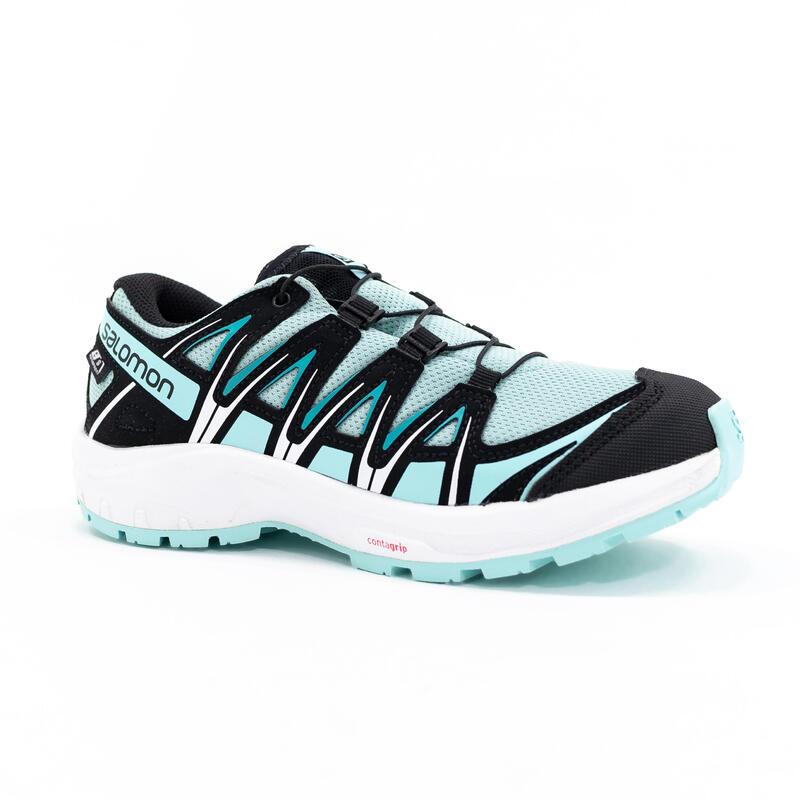 Chaussures imperméables de randonnée - SALOMON XA PRO 3D PASTEL - Enfant 31-39
