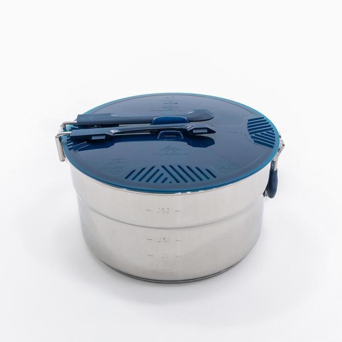 Kochset MH100 Inox für 4 Personen 2,6Liter