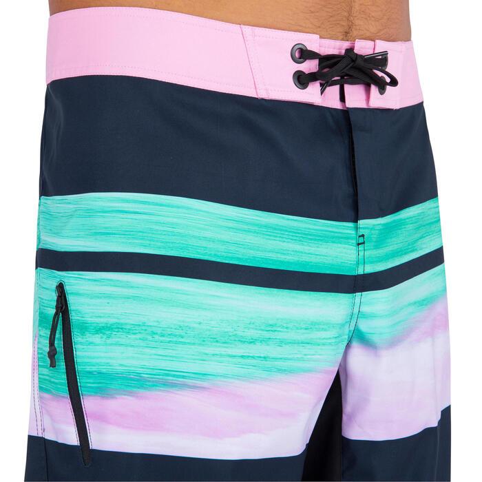 標準衝浪褲500-黑色/里斯卡款