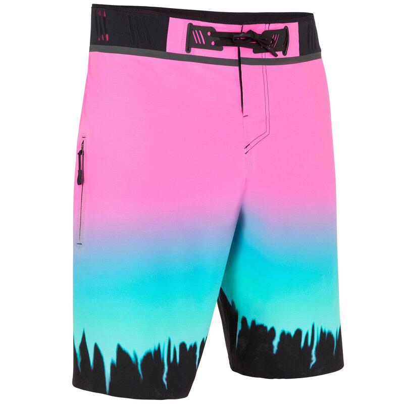 Surf Boardshort Long 900 Grungy Pink.