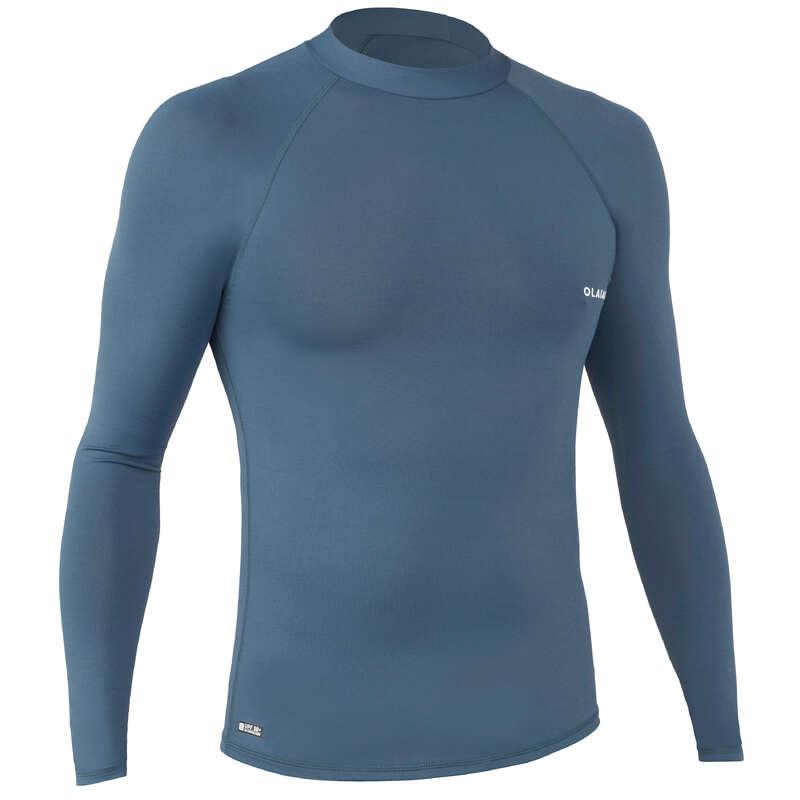 MUŠKA ODJEĆA ZA ZAŠTITU OD SUNCA Kupaći kostimi za muškarce - Majica s UV zaštitom UVTOP100 OLAIAN - Kupaći kostimi za muškarce