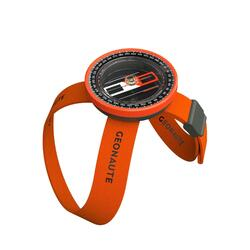 500 MULTISPORT WRIST COMPASS - ORANGE/BLACK