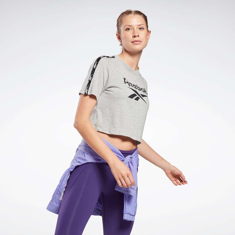 NŐI PÓLÓ, LEGGING, RÖVIDNADRÁG Fitnesz - Női póló Reebok REEBOK - Fitnesz ruházat és cipő