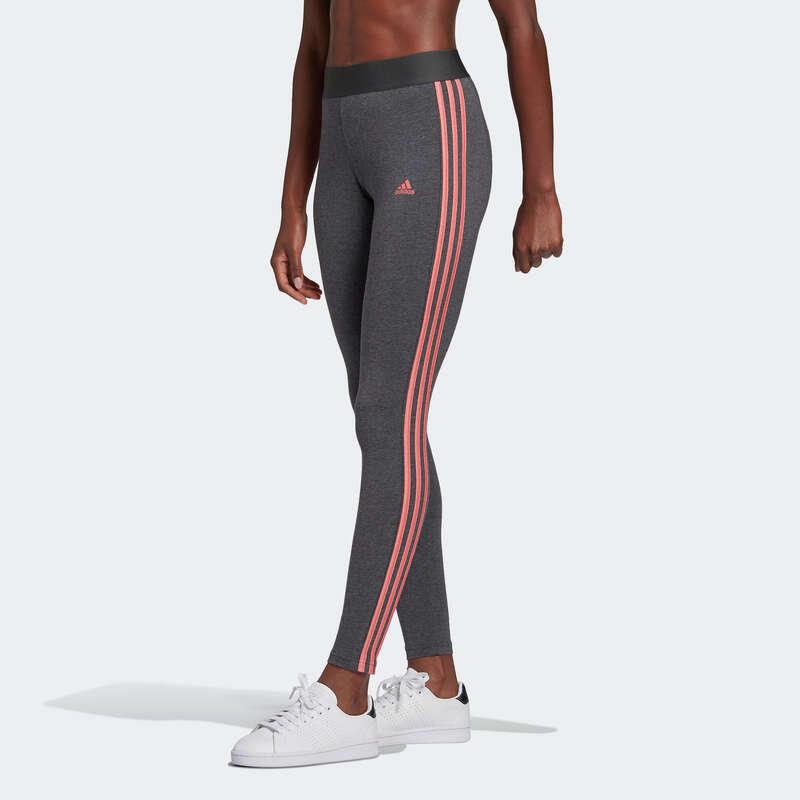 NŐI PÓLÓ, LEGGING, RÖVIDNADRÁG Fitnesz - Női leggings Adidas ADIDAS - Fitnesz ruházat és cipő