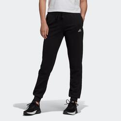 Jogginghose Fitness Linear Damen schwarz
