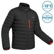 Men's Mountain Trekking Down Jacket - TREK 500 -10°C Black