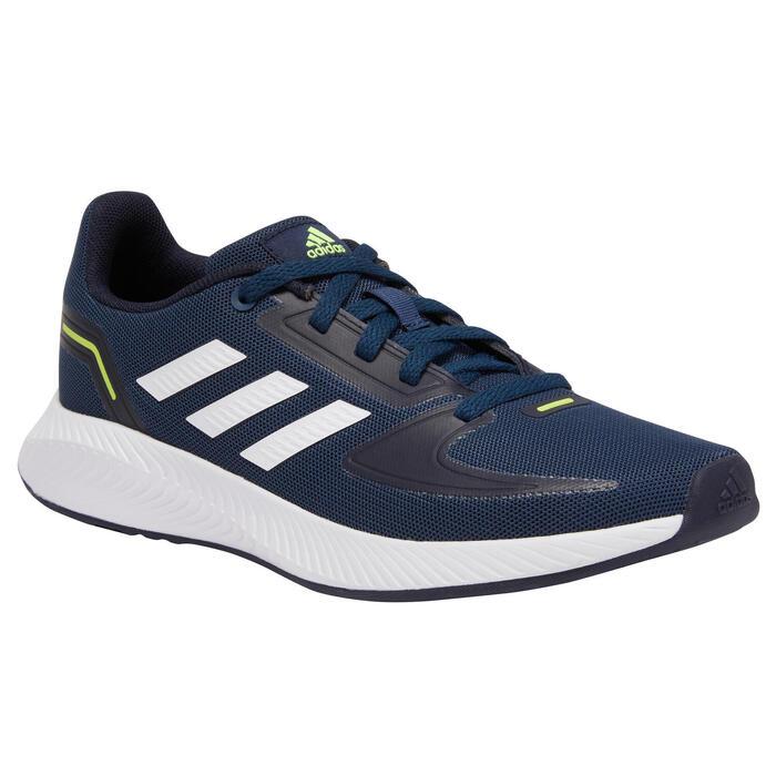 Chaussures marche enfant Adidas Falcon bleu