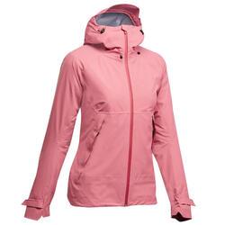 女款防水登山健行外套NH500