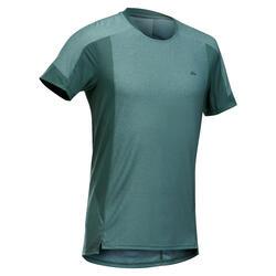 Men's short-sleeved mountain walking t-shirt MH500