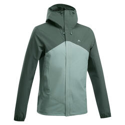 Men's waterproof mountain hiking jacket - MH150