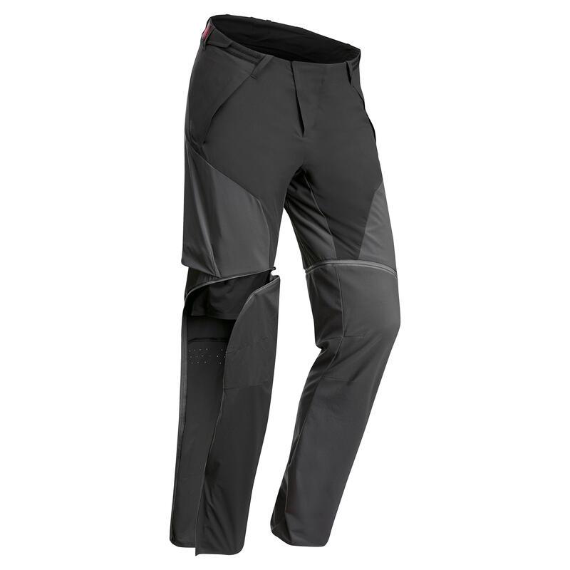 Pantalon modulable de randonnée montagne - MH950 - Homme