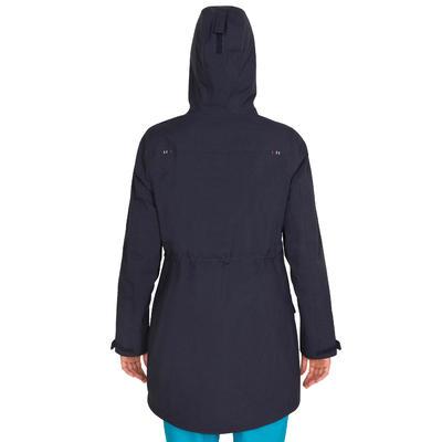 500 Women's Waterproof Sailing Oilskin - Blue