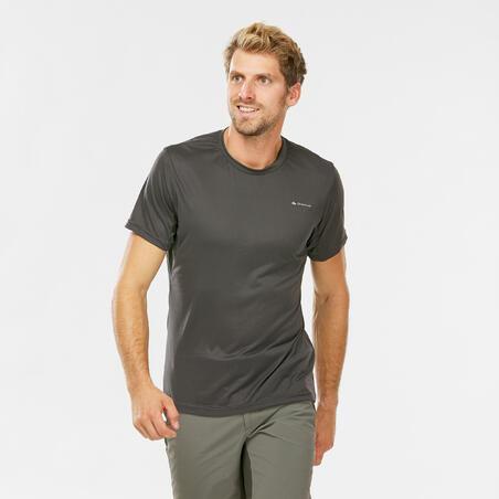 Vyriški trumparankoviai kalnų žygių marškinėliai MH100