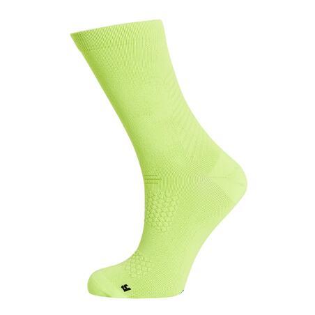 Summer Road Cycling Socks 900 - Yellow