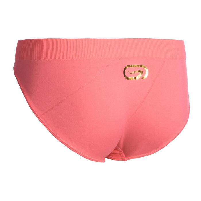 女孩款透氣運動內褲AT 500 - 粉紅色
