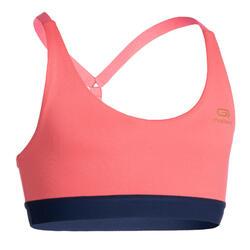 女童運動內衣AT 500 - 粉色