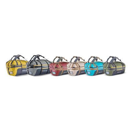 Trekking carry bag - Duffel 500 Extend - 40 to 60 litres - Blue