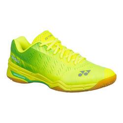 Calçado de Badminton, Squash e desportos INDOORS PC AERUS X Amarelo