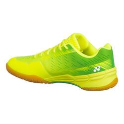 Chaussure de Badminton, Squash et sports INDOOR S PC AERUS X Jaune