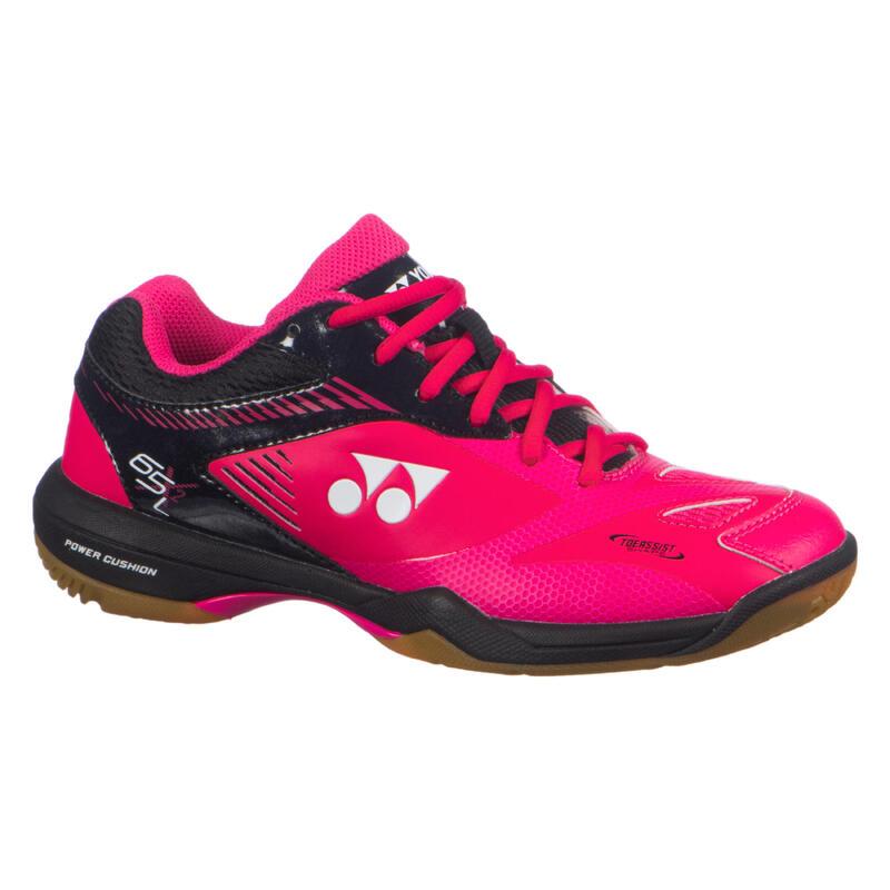 Badminton, Squash, Indoor Sports Shoes PC 65 X2 L - Pink/Black