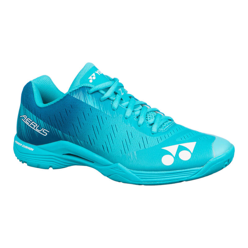 Badminton, Squash and Indoor Sports Shoes PC Aerus Z - Mint Blue