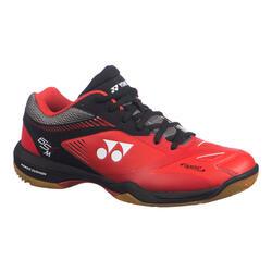 Calçado de Badminton / Squash / Desportos Indoor PC-65 X2 Homem Vermelho/Preto