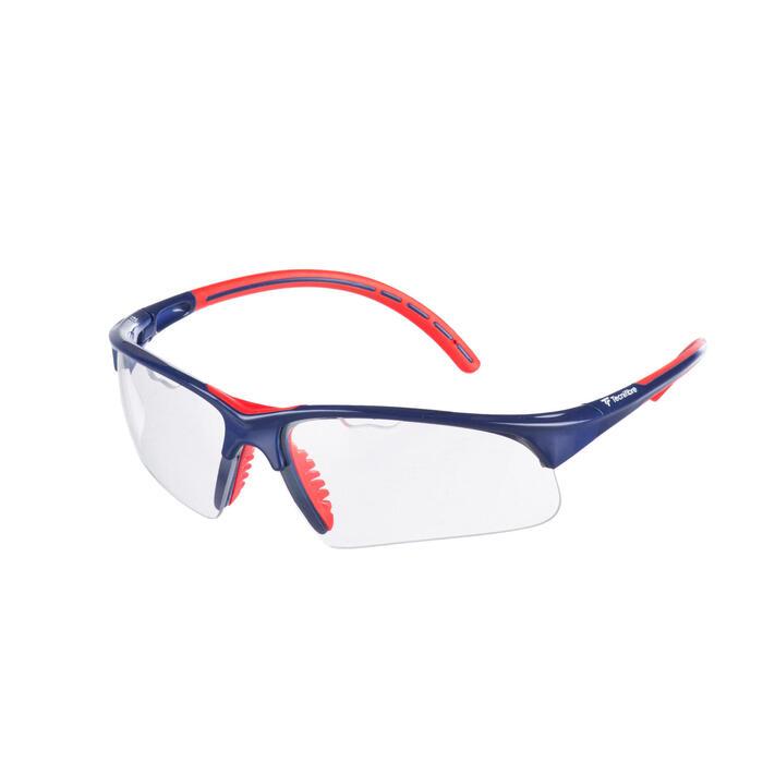 Squashbril TF rood blauw