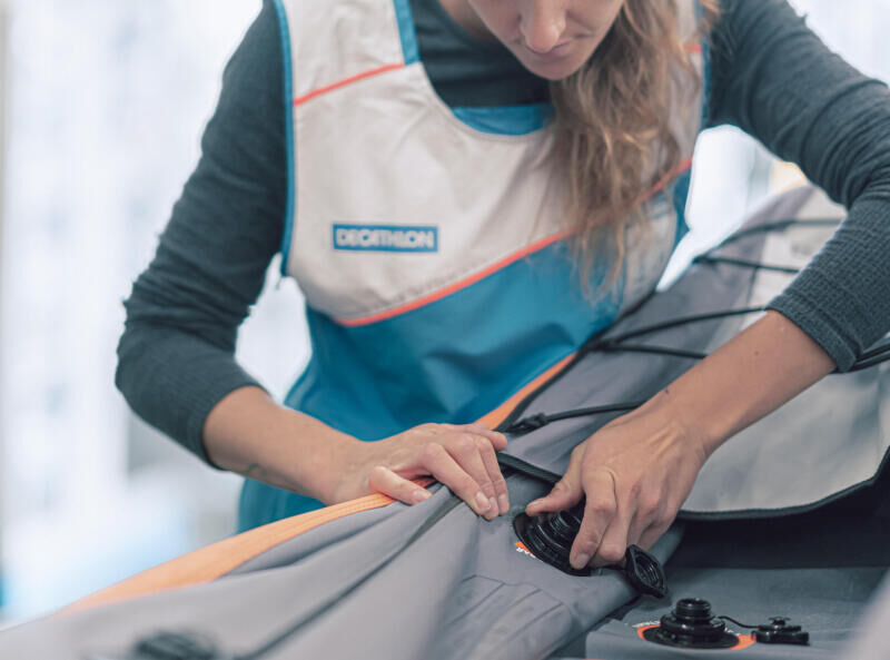 entretien kayak gonflable