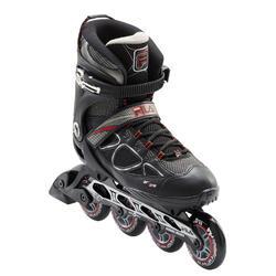 Fitness skates voor heren Primo Air Zone 84 mm zwart/rood