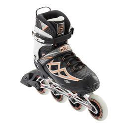 Inline Skates Fitness-Inliner PRIMO AIR ZONE 84mm Damen schwarz/lachsrot