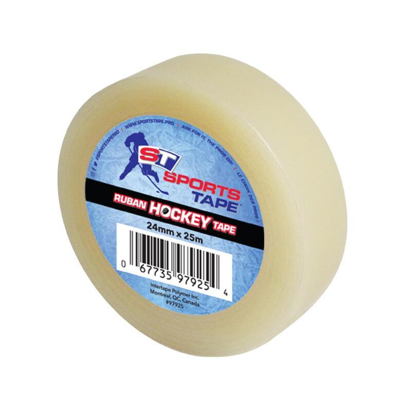 Hockey shin pad tape