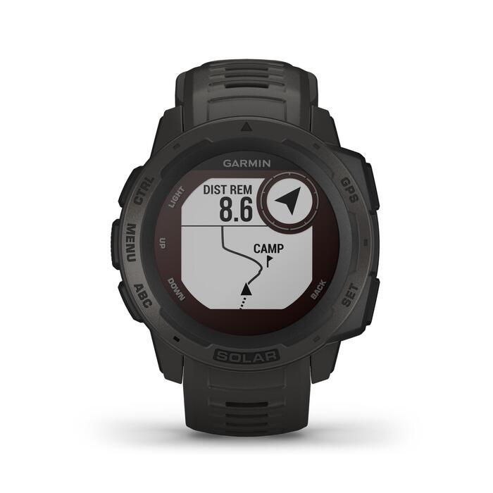 Smartwatch Instinct Solar Graphite Preto