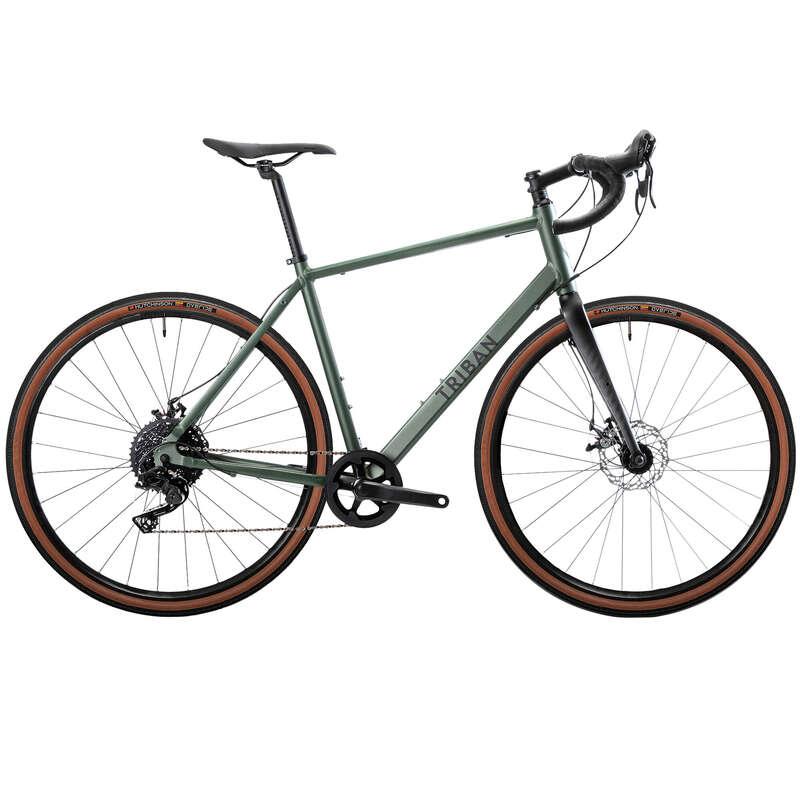 BICICLETĂ ȘOSEA - Bicicletă GRAVEL 120 TRIBAN