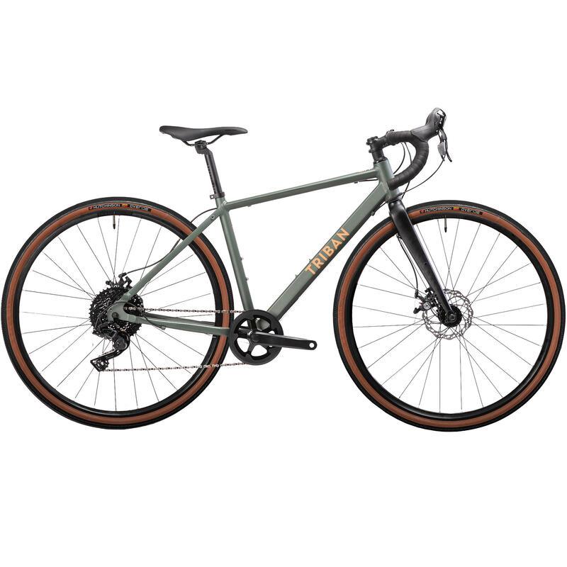 RC120 Women's Disc Gravel Adventure Bike - Grey - Microshift