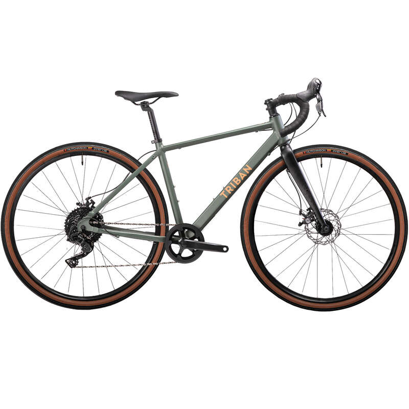 VELOS ROUTE FEMME Cykelsport - Gravelbike GRVLW120 dam TRIBAN - Cyklar