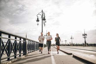 löpning illustration
