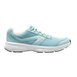 WOMEN'S RUNNING SHOES - KALENJI RUN CUSHION - BLUE