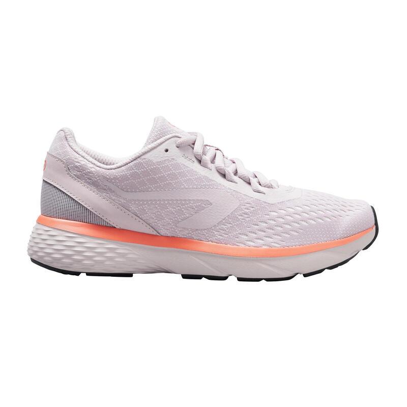 Zapatillas Running Kalenji Run Support Mujer Gris