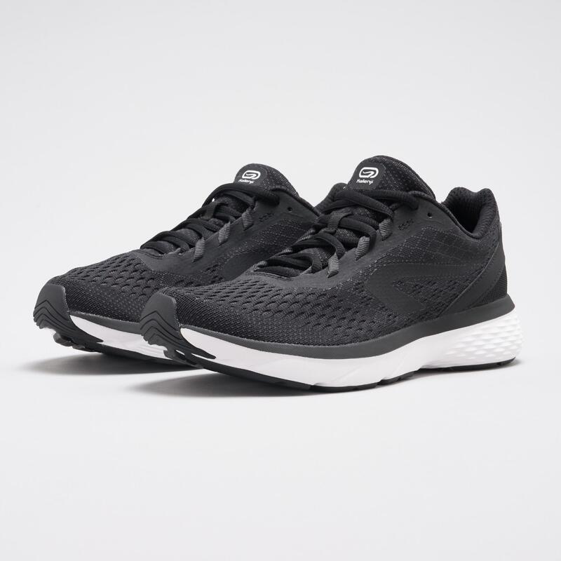 Kadın Siyah Koşu Ayakkabısı / Hafif Tempolu Koşu - RUN SUPPORT