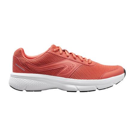 Tenis Running Kalenji Run Cushion Mujer Naranja