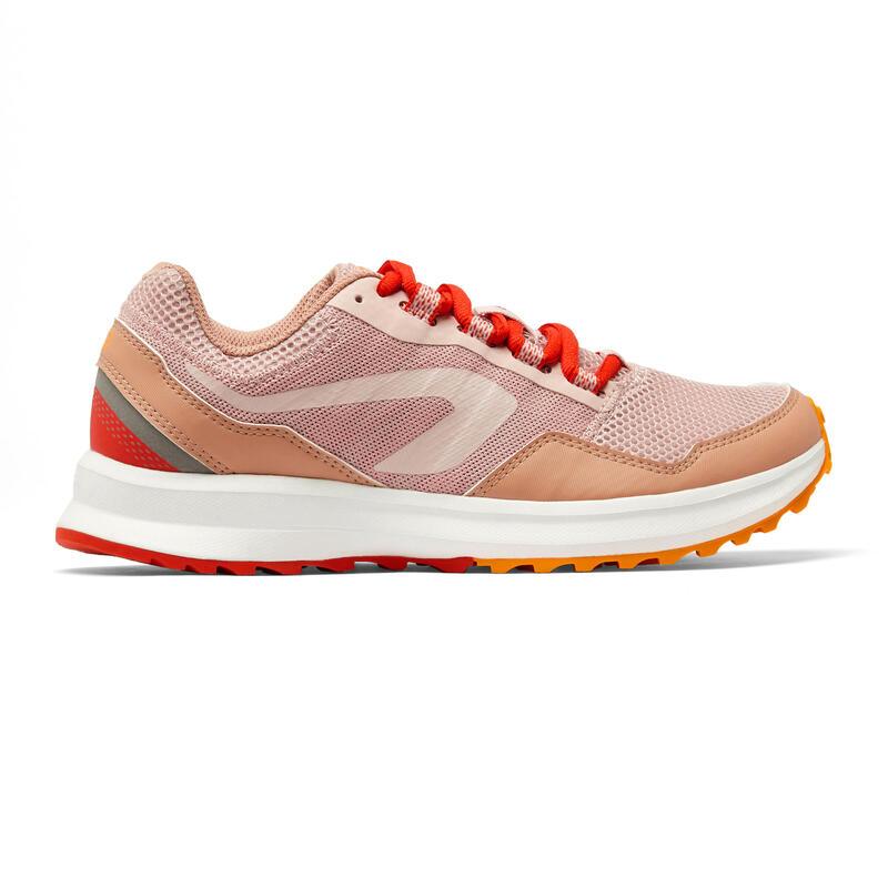 รองเท้าวิ่งผู้หญิงรุ่น RUN ACTIVE GRIP ของคาเลนจิ (Kalenji) (สีชมพู)