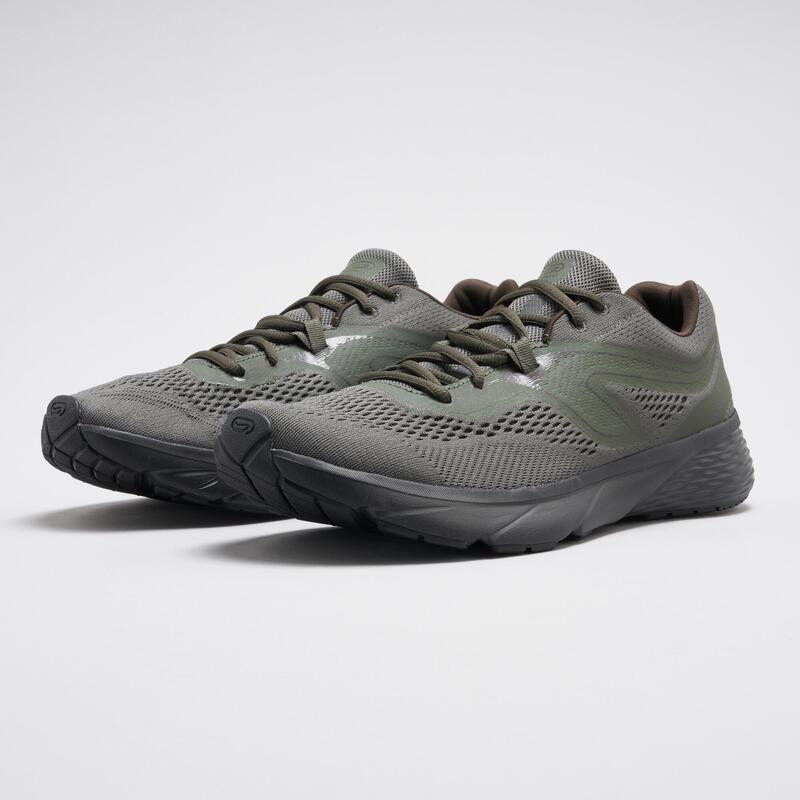 Erkek Haki Koşu Ayakkabısı / Hafif Tempolu Koşu - RUN SUPPORT
